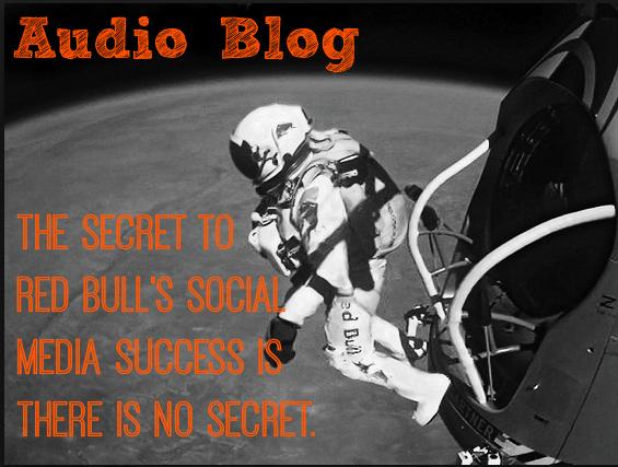 red bull social media